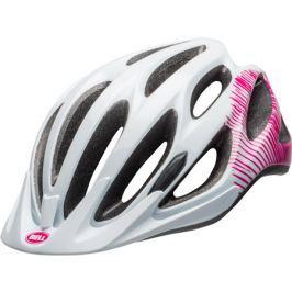 Dámska cyklistická prilba BELL Coast lesklá bielo-ružová