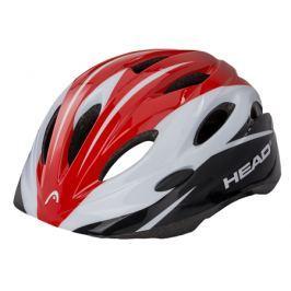 Detská cyklistická prilba Head Kid Y01 bielo-červená