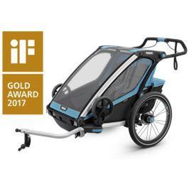 Cyklovozík Thule Chariot Sport 2 + 2 sety ZADARMO