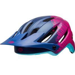 Dámska cyklistická prilba BELL Hela tmavo modrá-ružová