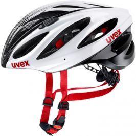 Cyklistická prilba Uvex Boss Race bielo-čierna