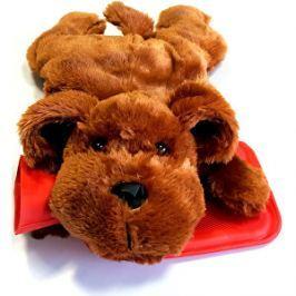 Albert Termofor detský Pes tmavohnedý